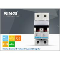 China SINGI SC63 63A 2 PHASE 400V CE certificate mini circuit breaker(MCB) manufacturer wholesale