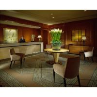 China 5 Star Hotel Reception Area Furniture Unfolded With Solid Chair wholesale