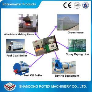 China 450000 kcal Biomass Wood Burner / 1.15kw Industrial Pellet Burner For Steam Boiler on sale