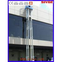 China Multi Mast Type Vertical Mast Lift 16m Platform Height With 160 kg Load wholesale