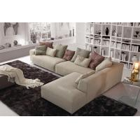 Buy cheap Beige Color Modern Fabric Sofas , Italian B / B Fabric Sofa Designs from wholesalers