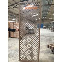 China High End Customized Hotel Room Divider , Wooden Room Screen Asia Style wholesale