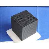Quality High Sulfur Capacity Honeycomb Activated Carbon Filter Media 100 PPI 150 PPI for sale