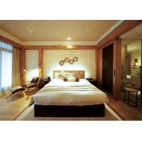 China 5 Star Hotel Quality Furniture Wooden Frame , Contemporary King Bedroom Sets wholesale