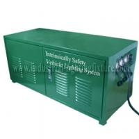 China Green Rechargeable 6A 24V Industrial Lighting Fixture / Power Distribution Box For LED light wholesale