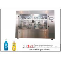 China High Accuracy Paste Filling Machine , Liquid Soap / Shampoo Filling Machine wholesale