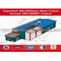 China Economical Metal freight steel structure warehouse sheds with CE Standard wholesale