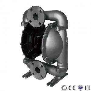 China Air Powered Double Diaphragm Pump / Diaphragm Oil Pump No Leakage on sale