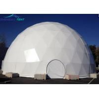 China 20m Big Geodesic Dome Tent Half Sphere Tent For Outdoor Wedding Events wholesale