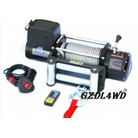 China Steel Heavy Duty Truck Winch , 12000lbs Atv Electric Winch With Steel Rope wholesale