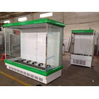China Health Built-In Compressor Multideck Open Chiller For Fruit / Vegetable / Beverage wholesale