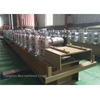 China Touch Screen Operate Shutter Door Roll Forming Machine PLC Control 5.5m X 1m X 1.4m Dia wholesale