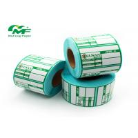 Buy cheap SGS Zebra Thermal Transfer Labels Stickers Direct Thermal Printer Barcode Label from wholesalers