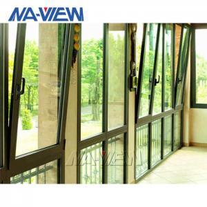 China Custom Aluminium Low Price Soundproof Double Single Slider Tilt And Slide Sash Windows wholesale