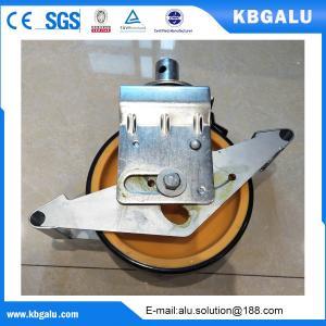 Buy cheap EN certified 8 inch  castor wheel for aluminum scaffolding from wholesalers