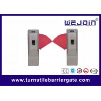 China 110V/220V 900mm full-automatic access control flap gate wholesale