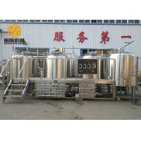 China Semi - Auto Control Beer Distillery Equipment 2000L 4 Vessels With Mash / Lauter wholesale