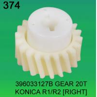 China 396033127B / 3960 33127B GEAR TEETH-20 (RIGHT) FOR KONICA R1,R2 minilab wholesale