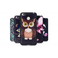 China Soft TPU Bumper Protect Camera Anti - Scratch Phone Case Owl Embossment wholesale