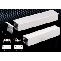 China Silver Al6061 T6 Extruded Aluminum Enclosures For LED Lighting wholesale