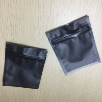 China wholesale colorful Small Aluminum Foil food packing bags with zip lock on sale