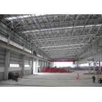 China Multi Span Agriculture Steel Frame Glass House Good Light Transmission wholesale
