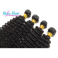 China Natural Deep Curl 100 Virgin Brazilian Human Hair For Black Women wholesale