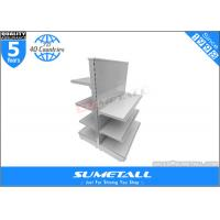 Buy cheap Commercial Retail Store Display Shelves , Steel Grocery Store Display Racks Double Side product