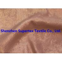 China Golden Foil Blotch Print Corduroy Stretch Polyester Nylon 16Wales 210GSM wholesale