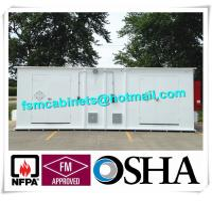 Quality Chemical Storage Buildings , Hazardous Material Storage Building For Corrosive Liquid for sale