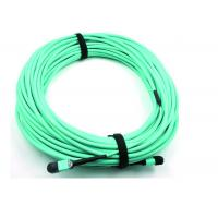 China MPO Fiber optic Patch Cord 50 / 125 OM3 12C for High Speed Data Center wholesale
