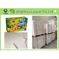 China One Side Coated White Cardboard Sheets For Packaging Boxes Eco Friendly wholesale