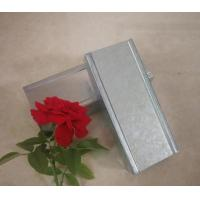 China High Security Galvanized Steel Stud Partition , Metal Stud Partition Wall Construction wholesale