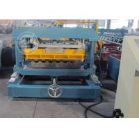 China Anti Rust Roller Metrocopo Steel Roof Tile Roll Forming Machine with CE wholesale