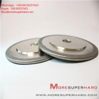 Electroplated Diamond/ CBN Grinding Wheels for Profile Forming or Surface Grinding of Marble  Alisa@moresuperhard.com