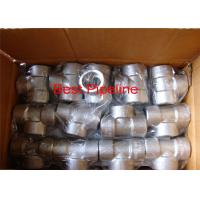 China NPT ASTM A105 Forged Pipe Fittings Stainless Steel Withstand High Pressure wholesale