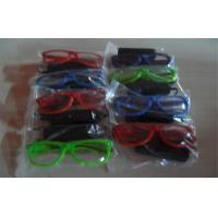China Colorfull Half Frame El Glowing Wire Light Up Sunglasses Powered By 2*AA Battery wholesale