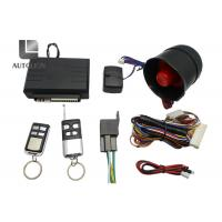 China Blazer One Way Car Security System , High End Car Alarm System With Remote Start wholesale