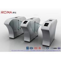 China Half Height Access Control Flap Barrier Gate Turnstile Automatically Flap Barrier With Acrylic Flap wholesale