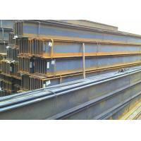 China High Grade Carbon Steel Metal I Beam , 6m / Custom Length Structural Steel Beams wholesale
