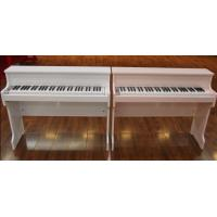 Quality 61 Key Upright Charged Toy Wooden Piano , Digital Portable Keyboard Piano for sale