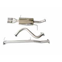 China 1.5mm Stainless Steel Downpipes For FORD Fiesta ST 2014-2019 wholesale