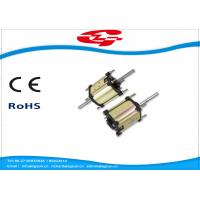 China High Voltage Dual Shaft Permanent Magnet DC Motor Used For Massager wholesale