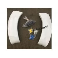 Quality White Painted Hilux Vigo Fender Flares 4WD Accessories / Vigo Wheel Arch Trim for sale
