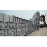 China Dry Slag Remover Bottom Ash Conveyor For Cooling Hot Slag , Transmission wholesale