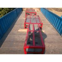 China Crusher Parts High Cr Cast Iron Chute Liners for High Toughness Values wholesale