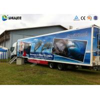 China 7D Mobile car cinema with motion chair and more special effects wholesale