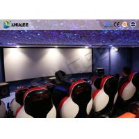 China 3D Glasses 5D Movie Ticket 5D Movie Theater With 5D Motion Ride / Control System wholesale
