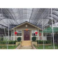 Environmental Friendly Prefab Steel House For Emergency Projects Easy To Built