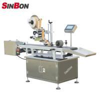 China Automatic page separating labeling machine for pouch labeling machine for pouch wholesale